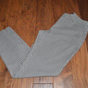 Tommy Hilfiger Dress Pants Check Pattern Pockets